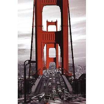 Golden Gate Bridge Poster Poster Print