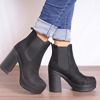 Koi Couture Black Ankle Boots - Blk.PD1
