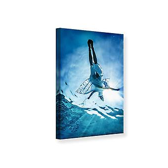 Canvas Print Beauty In Sea