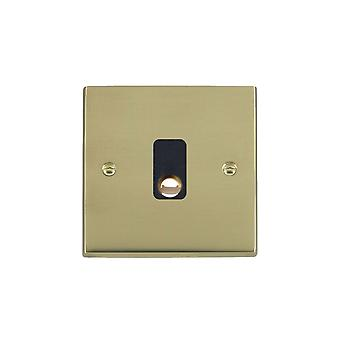 Hamilton Litestat Cheriton Victorian Polished Brass 20A Cable Outlet BL
