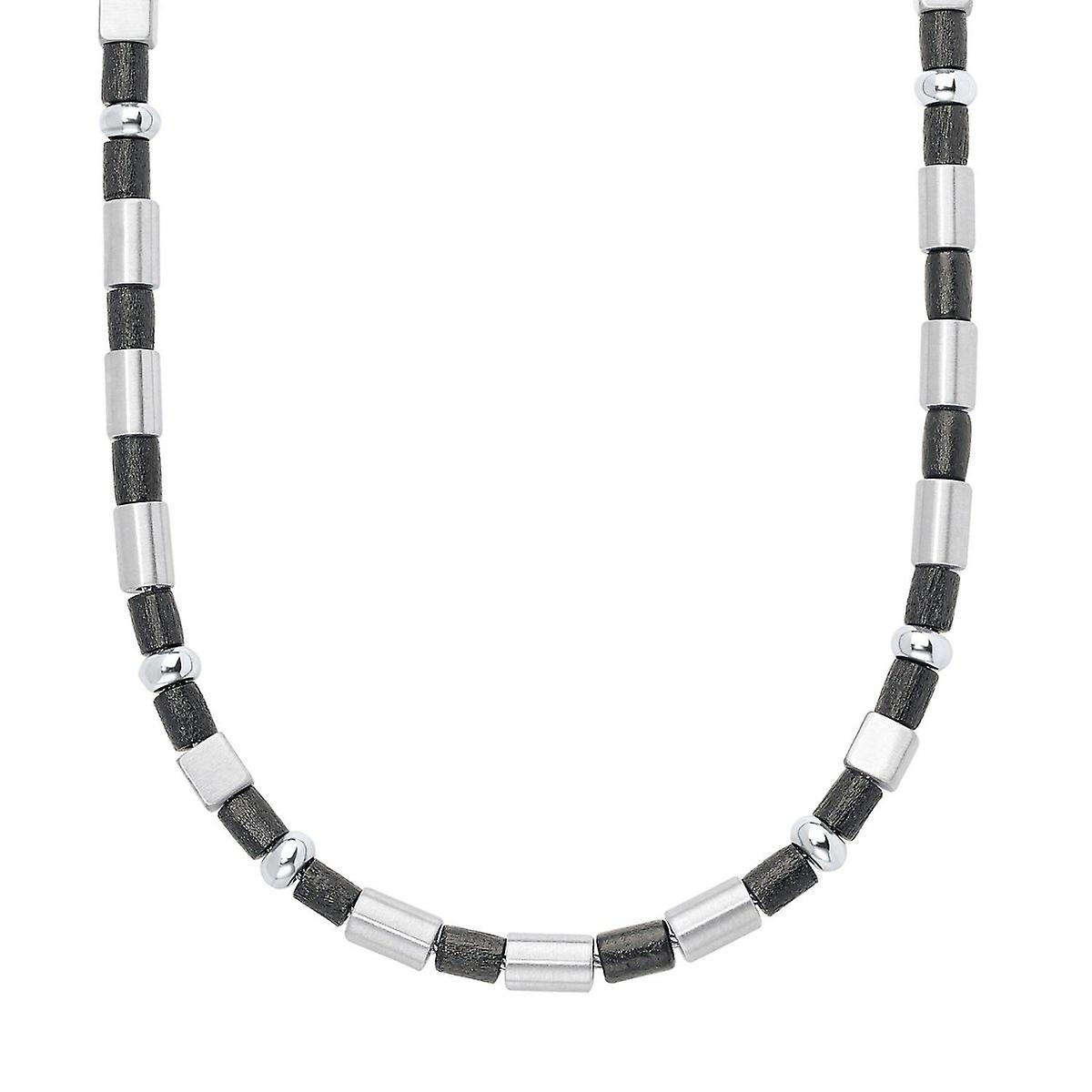 s.Oliver jewel mens necklace chain stainless steel wood SO268/1 - 9066360