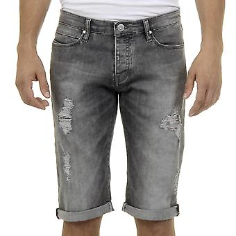 Andrew Charles Mens Jeans gris Jan