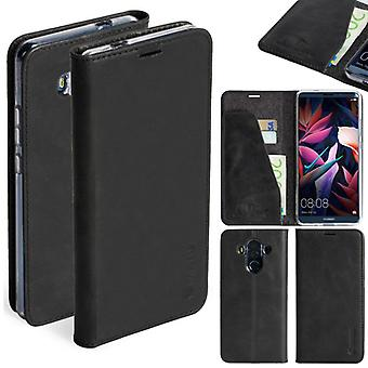 Krusell Sunne Leather Folio case for Huawei mate Pro leather pocket case black