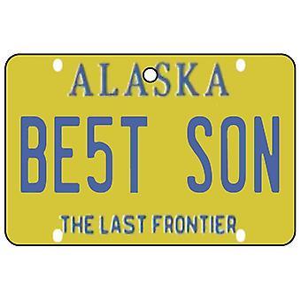 Alaska - beste zoon kenteken auto luchtverfrisser