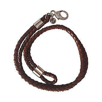 Double Braided Leather Bracelet As0068