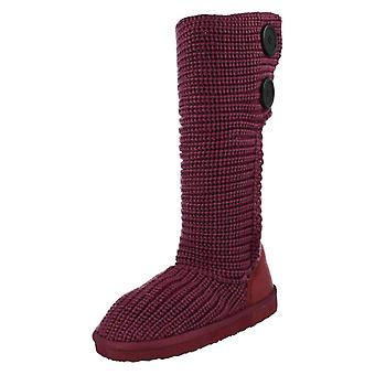 Girls Spot On Knitted Boots H4021