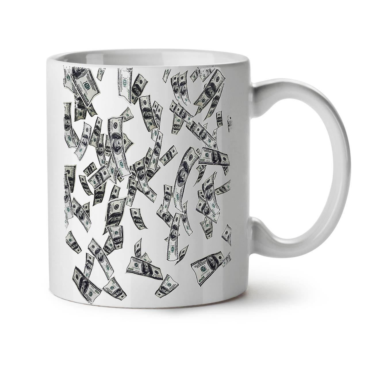 Tasse Blanc Céramique Dollar Thé Café Nouveau OzWellcoda Cash Argent 11 WIbDH9Ee2Y