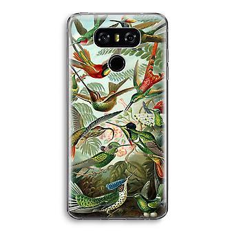 LG G6 Transparent Case - Haeckel Trochilidae