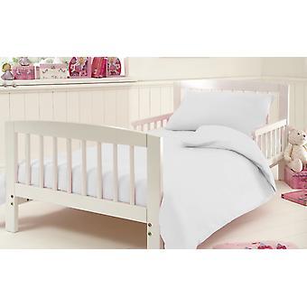 Ägyptische Baumwolle 200 Thread Kinderbett Bettbezug Bettwäsche-Set mit Kissenbezug