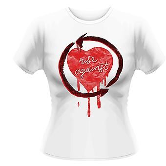 Rise Against Rough Heart T-Shirt Girlie