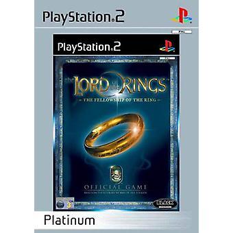 Le Seigneur des anneaux la communauté de l'anneau de platine