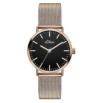 s.Oliver Женские Часы наручные часы из нержавеющей стали так-3330-MQ