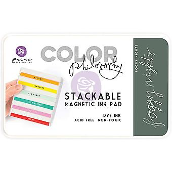 Prima Marketing Color Philosophy Dye Ink Pad-Foggy Nights
