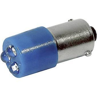 CML LED bulb BA9S Blue 24 Vdc, 24 V AC 780 mcd 18620357