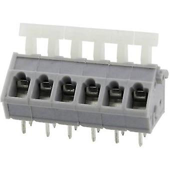 Degson DG243-5.0-08P-11-00AH Spring-loaded terminal 3.31 mm² Number of pins 8 Grey 1 pc(s)