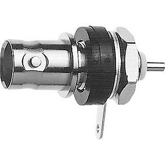 BNC connector Socket, build-in 75 Ω Telegärtner J01003D1286 1 pc(s)