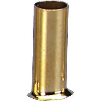 Ferrules 1 x 1.5 mm² Sinuslive gold-plated