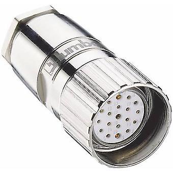 Lumberg Automation 2135 Sensor-/ manöverdon kontakt M23 kontakt, raka No. Pins (RJ): 19 1 dator