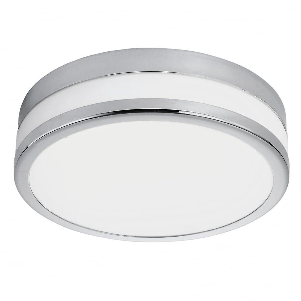 Eglo Palermo 11W 3K LED Flush Chrome Ceiling lumière