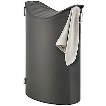 Blomus laundry collector FRISCO, aluminium with synthetic fiber combined, anthracite
