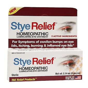 The relief products stye relief homeopathic eye ointment, 0.14 oz