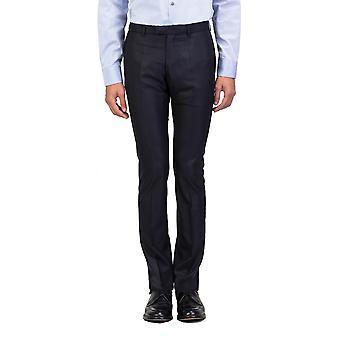 Dior Homme Men's Slim Fit Dress Trousers Pants Navy