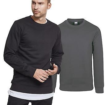 Urban classics - BASIC crewneck Terry fleece sweater