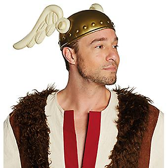 Gauls helmet with wings
