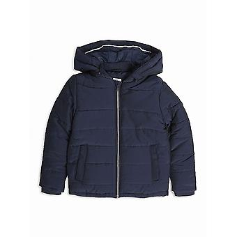 Hugo Boss Boys Hugo Boss Boys Navy Hooded Bubble Jacket