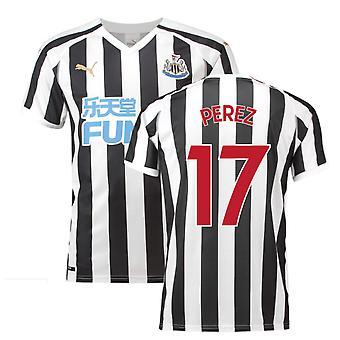 2018-2019 Newcastle Home Football Shirt (Perez 17)