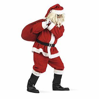 Santa Claus plush Nicholas men's costume Santa Claus costume Santa mens costume