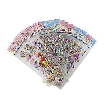 Mickey's clubhuis stickers in 3D-4 bladen (ongeveer 48 stuks)