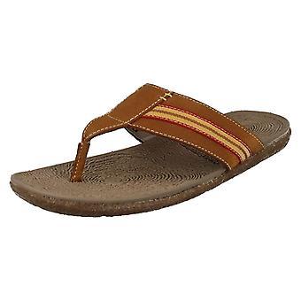 Mens Hush Puppies sommar sandaler ram tå inlägg
