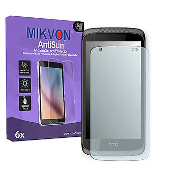 HTC Desire 526G Dual Sim Screen Protector - Mikvon AntiSun (Retail Package with accessories)