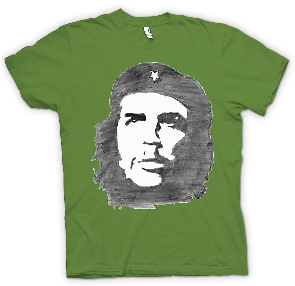 Mens T-shirt - Che Guevara Sketch - Cool