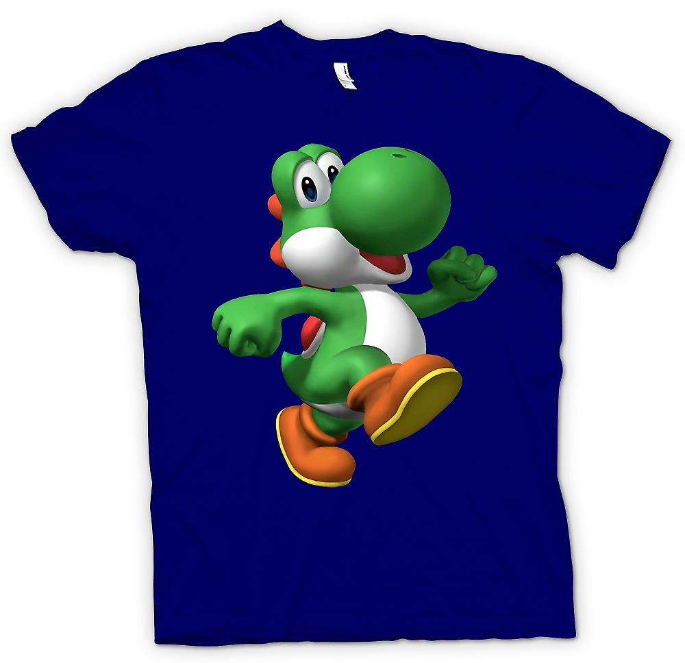 Mens T-shirt - I Love Yoshi - Gamer