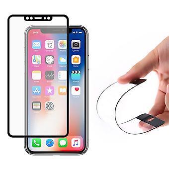 Comprehensive Flexi Nano Glass Hybrid screen protector iPhone X/Xs BLACK