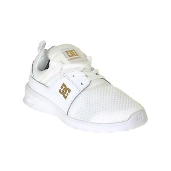 DC White-Gold Heathrow - Special Edition Womens Shoe