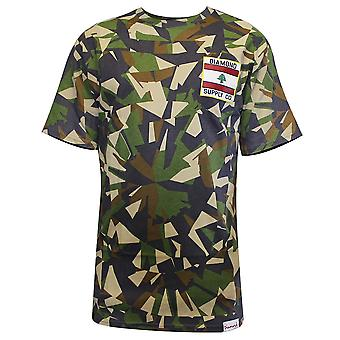 Diamond Supply Co. My Country T-Shirt Camo
