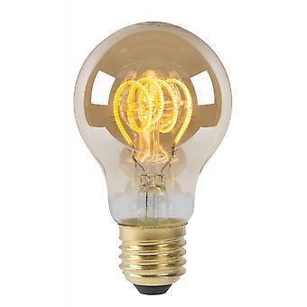 Lucide lampadina LED vetro Vintage lampadina filamento Amber