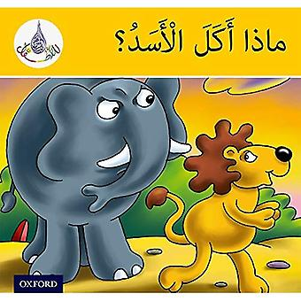 De arabiska Club läsarna: Arabiska Club läsare gul - vad gjorde de lejon äter? (Arabiska Club gula läsare)