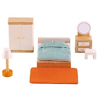 Jeu d'imitation enfant jeux jouets Mobilier pour chambre à coucher de poupée 0102101