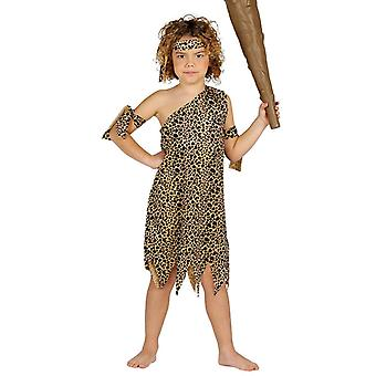 Boys Caveman Neanderthal Fancy Dress Costume