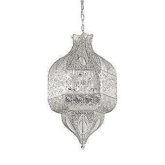 Ideale Lux - Nawa-1 grote acht lichte zilveren afwerking hanger IDL141954