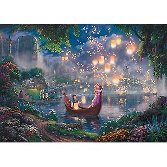 Schmidt Kinkade: Disney Tangled Jigsaw Puzzle (1000 pieces)
