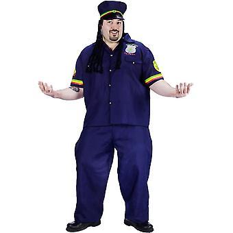 Patrouilleur drôle Costume adulte