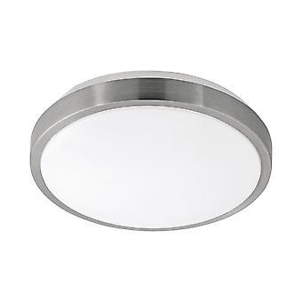 Eglo - Competa 1 LED cetim níquel redondo EG96032 luz de teto