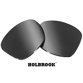 HOLBROOK Replacement Lenses Polarized Silver Mirror by SEEK fits OAKLEY