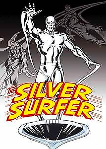 Silver Surfer fridge magnet