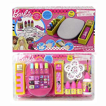 Barbie Nail Art Station negle dekoration Kit